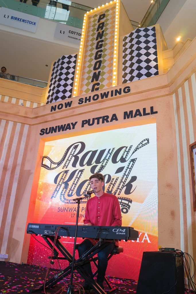 Greyson Chance as one of Raya Klasik special guest performing Afterlife, a song from his latest album.-S