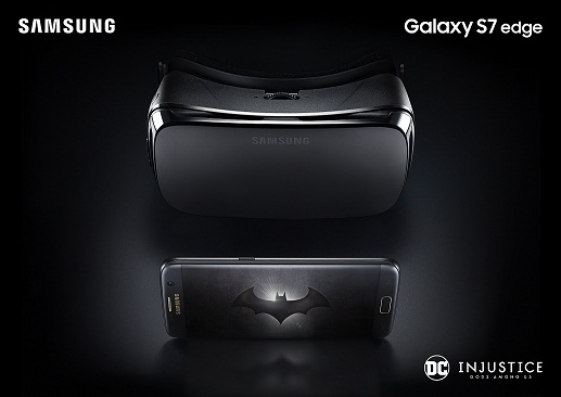 Samsung Galaxy S7 edge Injustice Edition_Gear VRedit