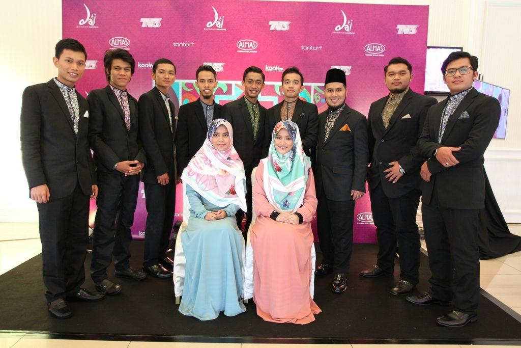 Barisan peserta Da'i Pendakwah Nusantara