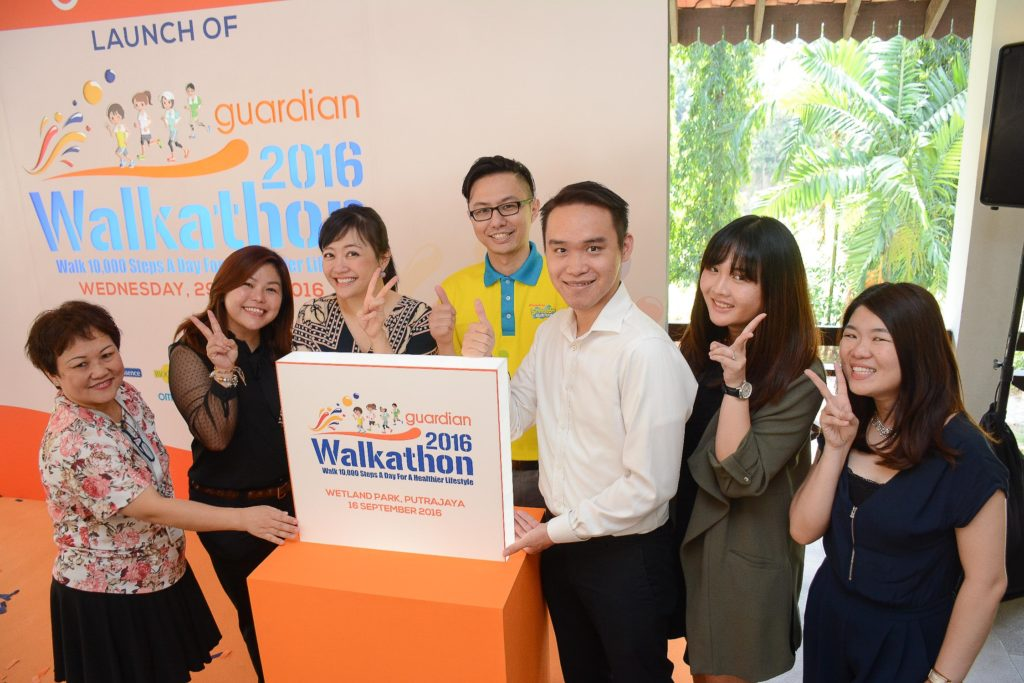 Guardian Walkathon 2016 Launch
