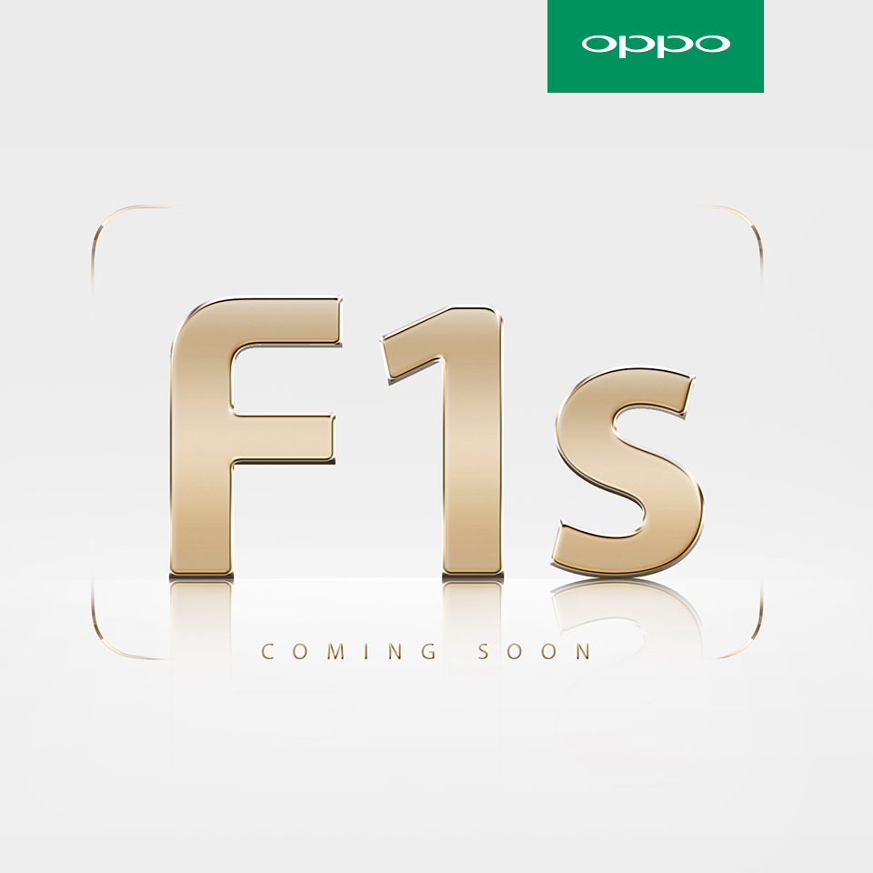 OPPO Announces F1s, Next-Level Successor to F1
