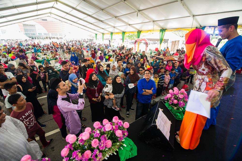 Kemeriahan Rumah Terbuka GM Klang