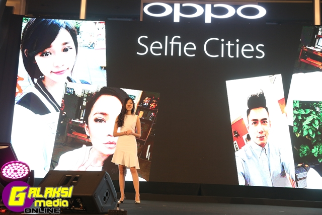 Nikki Chen, OPPO Malaysia's Brand Manager shared some brand insights on the direction of the Selfie Expert series