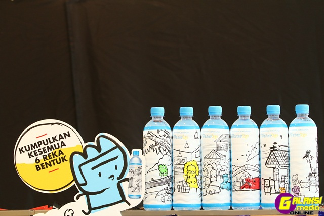 Image 3 - The limited edition Select water2go bottles