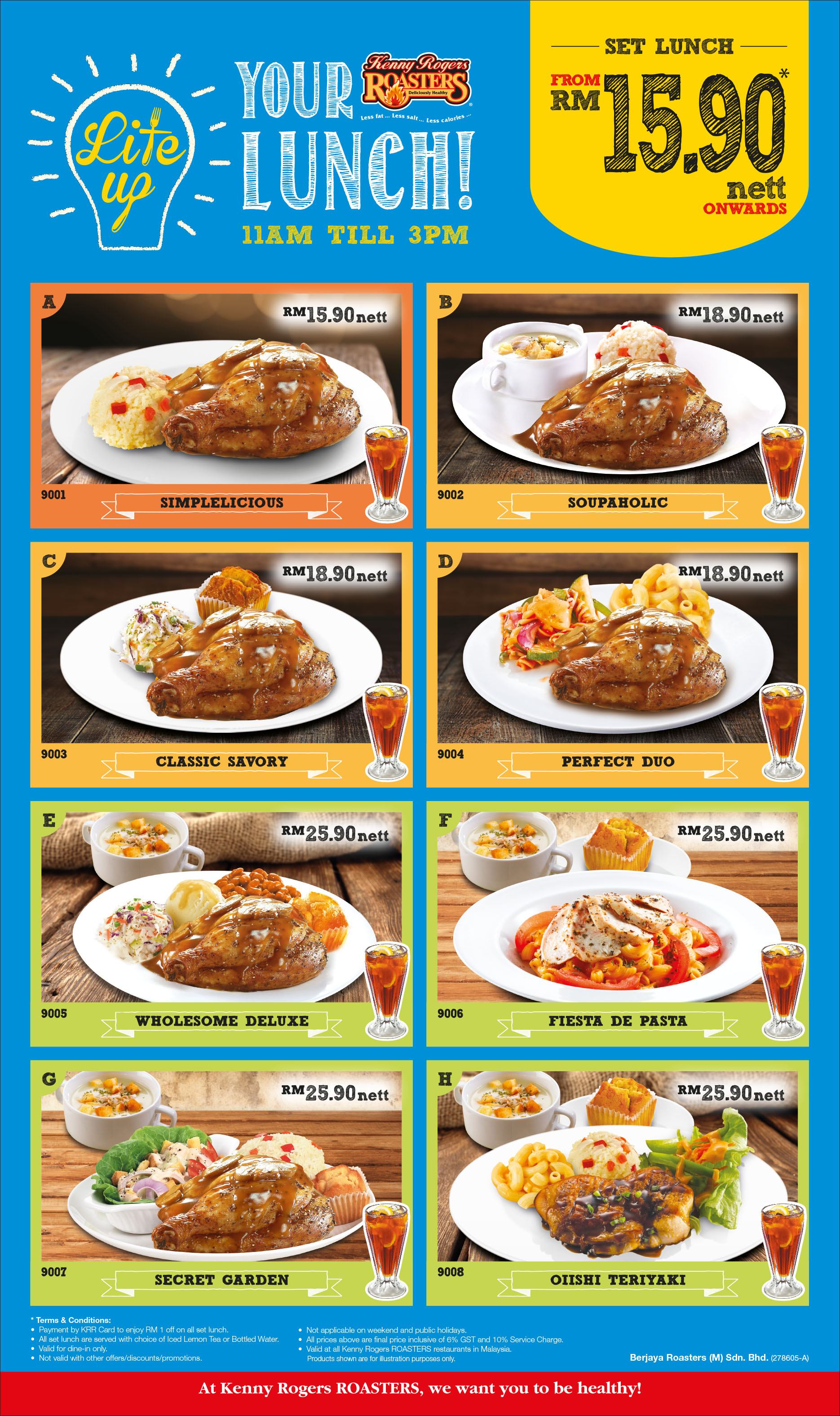 Semasa Lite Up Your Lunch At Kenny Rogers Roasters Galaksi Media